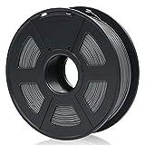 ANYCUBIC Filamento PLA 1.75, Filamento Stampante 3D FDM 1kg Spool Tolleranza del diametro +/- 0,02 mm,Nero