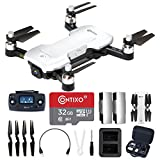 Contixo F30 Drone for Kids & Adults WiFi 4K UHD Camera and GPS, FPV Quadcopter for Beginners, Foldable Mini Drone, Brushless Motor,...