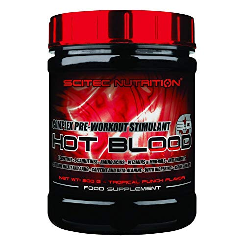 Scitec Nutrition - HOT BLOOD 3.0 - Pink Lemonade - Net Wt: 300g