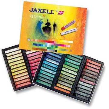 Jaxell-Pastellkreiden 72 Stück [Spielzeug]