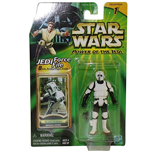 Hasbro Biker Scout Trooper Imperial Patrol (Battle Damaged) - Star Wars Power of the Jedi Collection