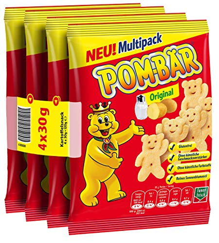 POM-BÄR Original Multipack, 10er Pack (10 x 4 x 30 g)