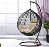 Rattan Chair Swing Chair Patio Garden Hanging Egg Chair Cushion Garden Outdoor Furniture Flower Cushion