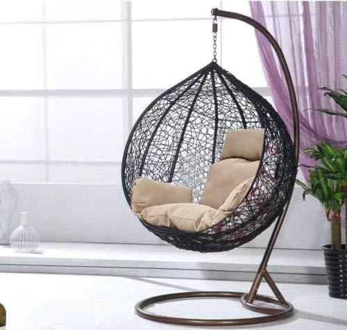General Packaging Rattan Chair Swing Chair Patio Garden Hanging Egg Chair Cushion Garden Outdoor Furniture Flower Cushion