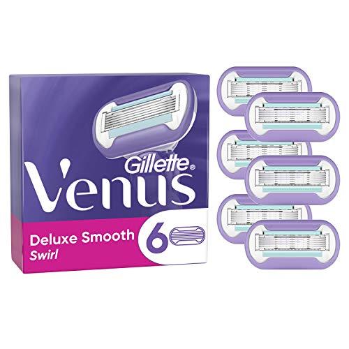 Gillette Venus Swirl–Cuchillas de afeitar–Pack de 6