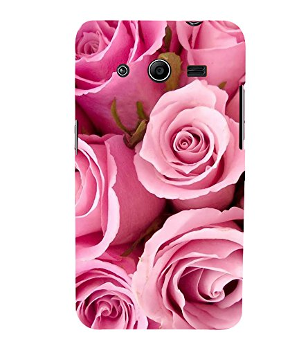 Fiobs Designer Back Case Cover for Samsung Galaxy Core 2 G355H :: Samsung Galaxy Core Ii :: Samsung Galaxy Core 2 Dual (Rose Flowers Floral Ful Red Gulaab Aroma Smell)