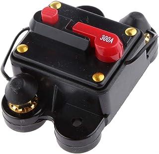 300 Amp Hi-Amp Manual Reset Circuit Breaker 12V 24V Car Boat Stereo Fuse