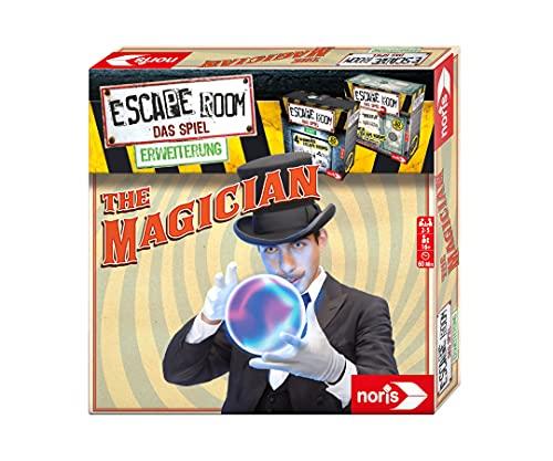 Noris 606101798 - Escape Room Erweiterung The Magician - Familien und Gesellschaftsspiel für Erwachsene - Nur mit dem Chrono Decoder spielbar - ab 16 Jahren