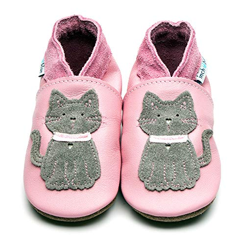 Inch Blue, Stivaletti bambine rosa Baby Pink and Grey 0-6_months