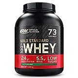 Optimum Nutrition Gold Standard 100% Whey Proteine in Polvere con Proteine Isolat ed Aminoacidi per la Massa Muscolare, Cioccolato Menta, 73 Porzioni, 2.26 kg, il Packaging Potrebbe Variare