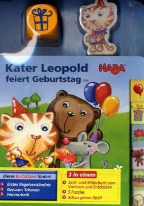 Kater Leopold feiert Geburtstag
