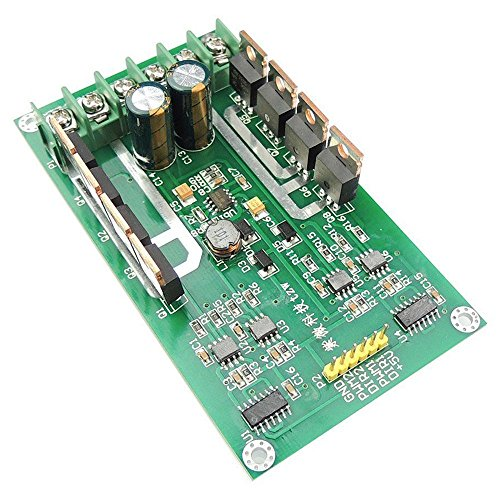 TOOGOO H-Bruecke DC Dual Motor Treiber PWM-Modul DC 3 ~ 36V 15A Spitze 30A IRF3205 Hochleistungssteuerplatine fuer Arduino Roboter Smart Auto