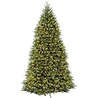National Tree Pre-lit Artificial 12Ft Christmas Tree with Pre-strung White Lights