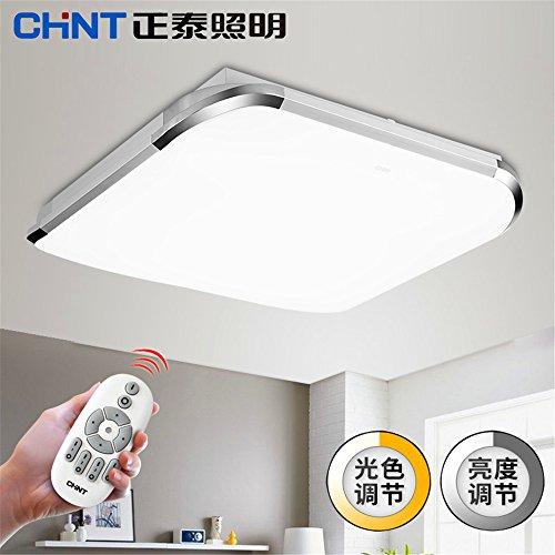 BRIGHTLLT Éclairage LED Plafonnier Carré Moderne Simple Salon Chambre Restaurant, 650 * 650 * 100 mm
