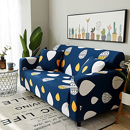 Funda de sofá elástica para Sala de Estar, Funda de sofá, Asiento de Soplo, decoración del hogar, sofá de Esquina, Montaje de sofá, Funda A22 de 4 plazas