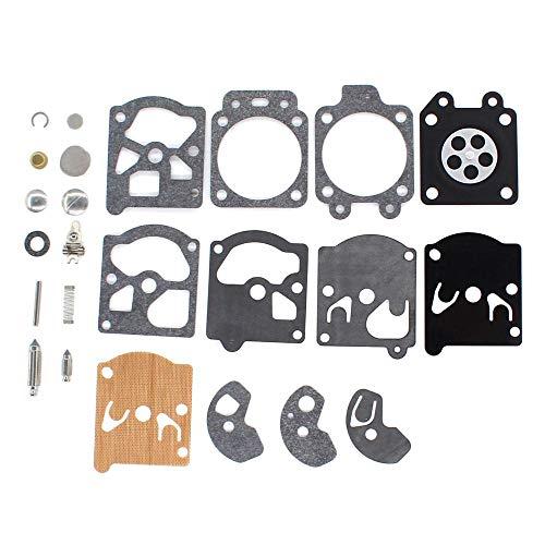 Powerful Tools Kit de reparación de juntas de diafragma de carburador para motosierra Walbro K10-WAT WA WT Series