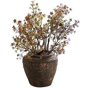 """Silk Flower Arrangements Jiande 6 PCS 23"""" Artificial Iris Flower Plant 59cm Artistic Floral Flowers Dried Flowers for Wedding Decor and Table Centerpieces"""