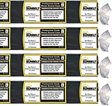 Dewitt Sunbelt 6' Wide x 300' Long Woven Weed Barrier Landscape Fabric Ground Cover for Greenhouses, Outdoor Displays, and Gardens, (4 Pack)
