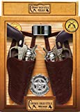Baga Goodies 1 Toy Cowboy Gun Pistol Plastic Wild WEST Play Set - Badge Belt and Holster - Gift for Boys