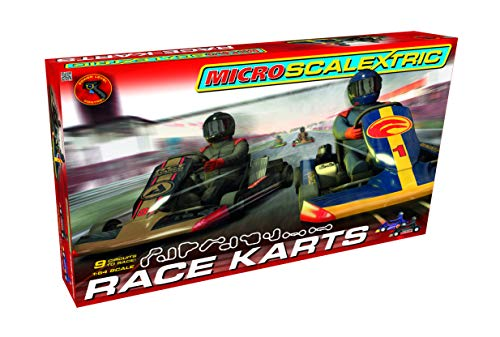 Scalextric - Scag1120p - Race Karts - Echelle 1/64