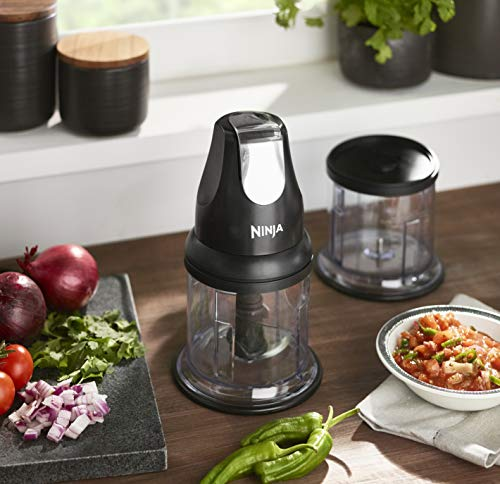 Ninja Professional Chopper [NJ1002UKBK] Stackable, 200W, Black Kitchen & Home Appliances Garden & Outdoors