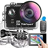 Yarber 8K 20MP Action Cam WiFi Touch...