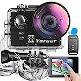 Cámara Deportiva WiFi 8K 20MP Ultra HD Yarber