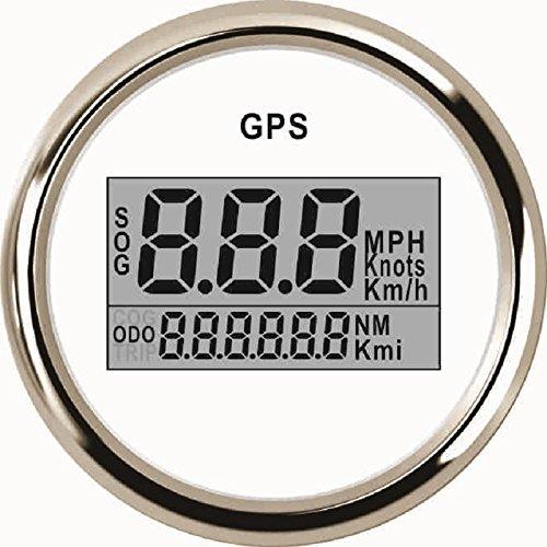 ELING Universal Digital GPS Velocímetro Speedo Gauge Para Coche Moto Camión Yate Barco 2 pulgadas 9-32V