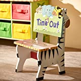 Fantasy Fields - Sunny Safari Animals Thematic Sturdy & Wood Kids Time Out Chair -Imagination Inspiring and Carefully Packaged Unique Hand Painted Details Non-Toxic, Lead Free Water-based Paint, Kids Time Out Chair