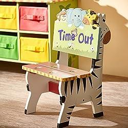 Un joli tabouret fauteuil coloré pour enfant