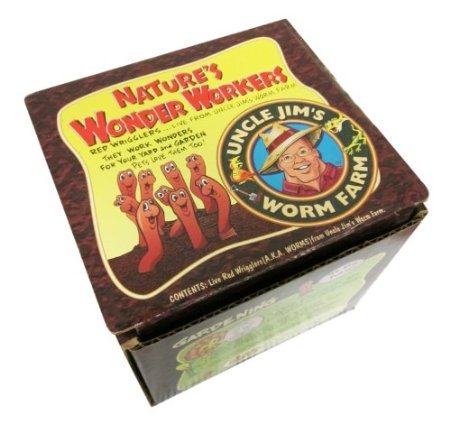 Find Cheap Uncle Jim's Worm Farm 2000 Count Red Wiggler Worms
