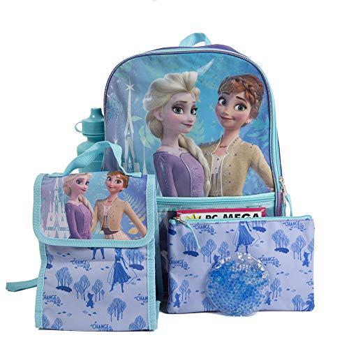 5 Pc. Disney Frozen 2 Backpack Set for Girls, 16 inch w/Frozen...