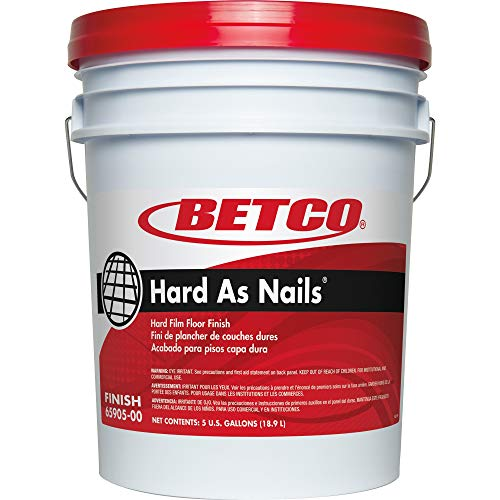 Betco - 6590500 Hard As Nails Hard Film Floor Finish, White