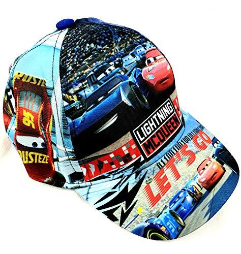 Sun City Baseballcap Cap Cappi Cars Lightning McQueen OneSize 52-54 blau