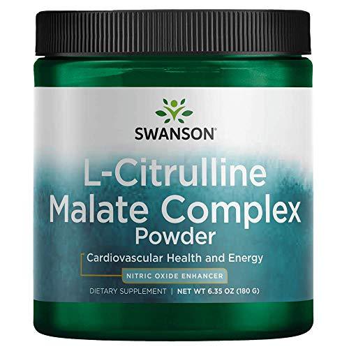 Swanson Amino Acid L-Citrulline Malate Complex 6.35 Ounce (180 g) Pwdr