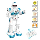 SOWOW Kids Remote Control Robot Toy Interactive Gesture Sensing Robot Kit RC Intelligent Walking Dancing Sining Robots Best Birthday Gift Toys for Kid