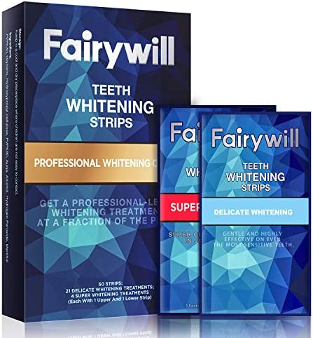 Save up to 35% on Fairywill Teeth Whitening Stips