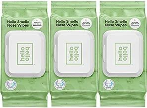 Hello Bello Hello Smello Wipes - Hypoallergenic, pH-balanced & Super Soft for Sensitive Skin - Unscented & Plant-Based Cloth - 40 Count