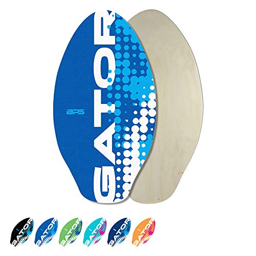 BPS 'Gator' Skimboard with Colored EVA Grip Pad