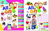 Mehta Graphics All in One Board & Writing Book for Kids - Pre
