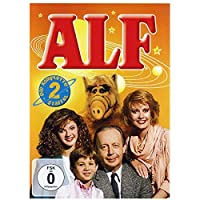 ALFシーズン1(1986)TVシリーズポスターとプリントキャンバス絵画壁アート家の装飾キャンバスにプリント-50x70cmフレームなし