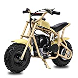 Fit Right 2020 DB003 40CC 4-Stroke Kids Dirt Off Road Mini Dirt Bike, Kid Gas Powered Dirt Bike Off Road Dirt Bikes, Gas Powered Trail Mini Bike - Ultra Edition (Yellow)
