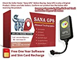 Sana GPS Tracker With Free One Year Software and Sim...