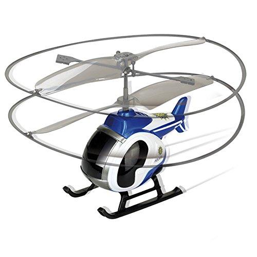 Silverlit-Mi Primer (World Brands), teledirigidos, Aviones, helicoptero RC, Radio Control, Juguetes, Drones para niños, Color azul (84703)