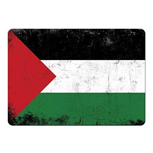 Muismat vlag retro Jordanië gekleurd