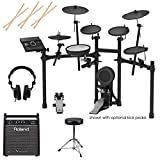 Roland TD-17KL V-Drums Electronic Drum Set - With Roland PM-100 80W Personal...
