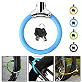 NDakter Bike Lock 12mm Heavy Duty, Portable Bicycle Disc Lock, Cycling Locks Anti-Theft High Security for Mountain Road Commute Bike, Kids' Bicycles (Blue)