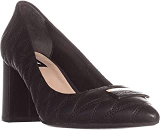 DKNY Womens Elia Leather Pointed Toe Classic Pumps US