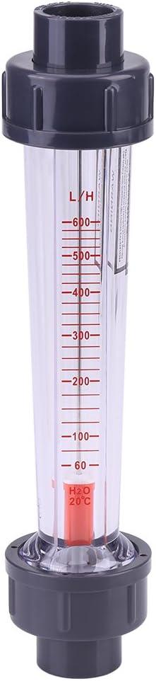 125 Plastic Ranking TOP6 Tube 35% OFF Water 60-600L Liquid Rotameter H