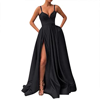 Best black spaghetti strap prom dress Reviews